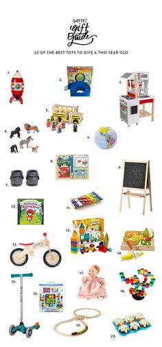 20 Best Toys To Give A Two Year Old
