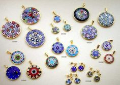 Murano glass jewelry - bought a small pendant for my granddaughter in Venice, Italy