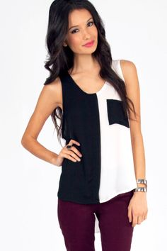 Pop Block and Drop It Tank by Tobi - Found on HeartThis.com #HeartThis