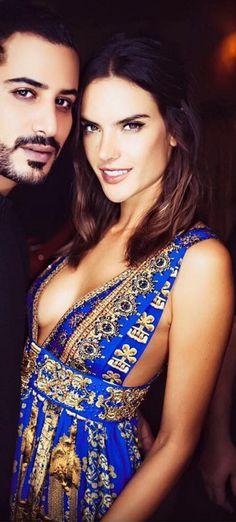 Alessandra Ambrosio wearing Camilla