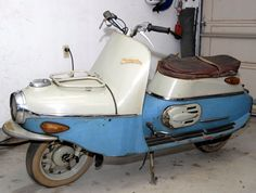 1961 Cezeta before restoration Scooters, Moped Scooter, Restoration, Motorcycles, Classic, Car, Vehicles, Motor Scooters, Motorbikes