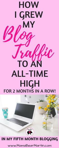 I can't believe this blogger is giving this blogging info away for FREE! I'd pay a lot of money to know this stuff! | Monthly Income | My Fifth Month Blogging | New Blogger Tips | Increase Pageviews | Grow Blog Traffic | www.mamabearmartin.com