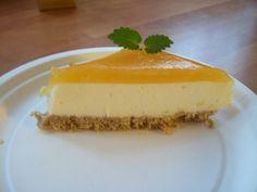 Sitruunainen juustokakku. Tekijänä Kotikokki.netin nimimerkki TanjaKoo