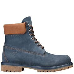 Denim Timberland Boots, Timberland Waterproof Boots, Mens Timberlands, Mens Winter Boots Fashion, Jersey Oversize, Mens Brown Boots, Blue Boots, Leather Loafer Shoes, Swagg