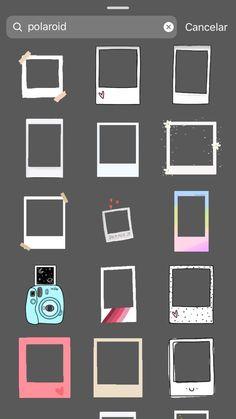 Instagram Themes Vsco, Instagram Emoji, Instagram Editing Apps, Iphone Instagram, Creative Instagram Photo Ideas, Insta Instagram, Instagram Story Ideas, Birthday Post Instagram, Instagram Frame Template