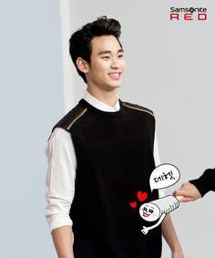 Samsonite RED #KimSooHyun #김수현