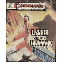 COMMANDO COMIC NO 1021 1976 TILLEYS of SHEFFIELD