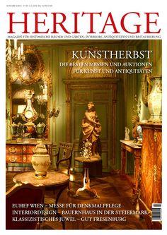 HERITAGE 04/2014 Magazin für Historische Häuser und Gärten, Interiors, Antiquitäten und Restaurierung   PR-Bericht  #traxmatthies