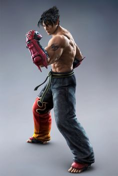 Strongest Jin Kazama yet in Wii u tekken tag tournament 2
