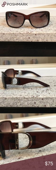 231904597fb DIOR sunglasses. Dior Sunglasses. No scratches on lenses. Some  discoloration on gold DIOR