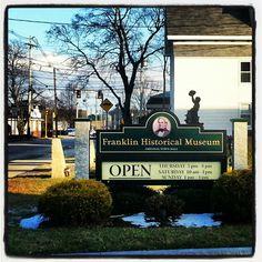 Franklin Historical Museum- #FranklinMA #Massachusetts