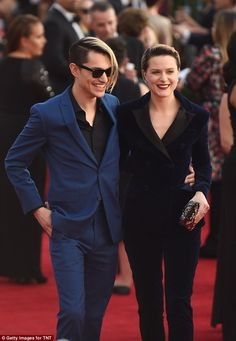 Ready to wed! Evan Rachel Wood is engaged to her boyfriend Zach Villa. She referred to him as her fiancee during the SAG Awards on Sunday