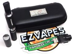 the stok gold vap kit comes stock with the funnel cloud tank and an awesome pen cap