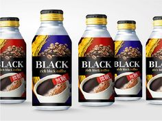 Black Coffee on Packaging of the World - Creative Package Design Gallery