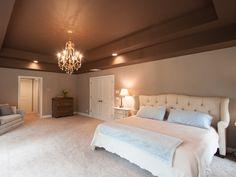 Completely remodeled master bedroom.