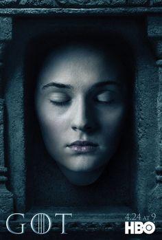 Game of Thrones: novos cartazes da 6ª temporada com personagens vivos e mortos - Minha Série
