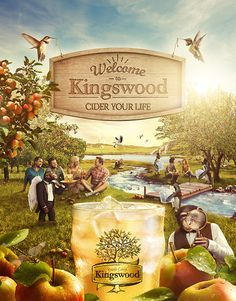 Kingswood Cider // Product Launch // Brand Developement on Behance