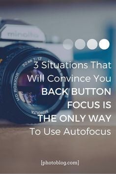 3 Situations That Prove Back Button Focus Is The Best Way To Use Autofocus Photography Challenge, Photography Basics, Photography Tips For Beginners, Photography Lessons, Photography Camera, Photoshop Photography, Photography Tutorials, Digital Photography, Photography Ideas