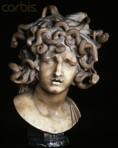 Head of Medusa by Gian Lorenzo Bernini