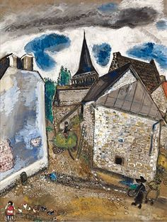 L'église de Chambon, 1922-'26 - Marc Chagall (1887-1985)