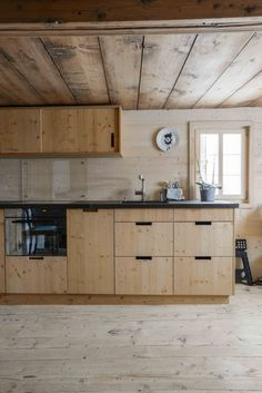 Chalet, Mountain, Kitchen, Strickbau, Nordische Fichte