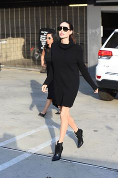 Angelina Jolie's Most Pinterest-Worthy Street Style Looks - November 4, 2017 from InStyle.com
