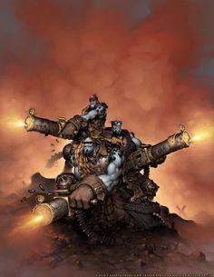 Hordes: Trollkin Sluggers by *JayAxer on deviantART