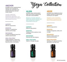 doTERRA's new yoga collection.
