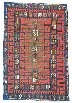 ... kilims was considered complete unless it contained a good Yuncu kilim
