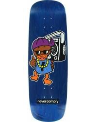 Skateboard Deck Street Plant Duck - Blue