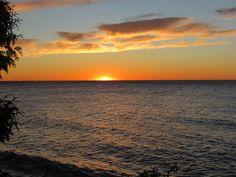 Água, Pôr Do Sol, Pôr Do Sol De Verão, Céu Da Noite