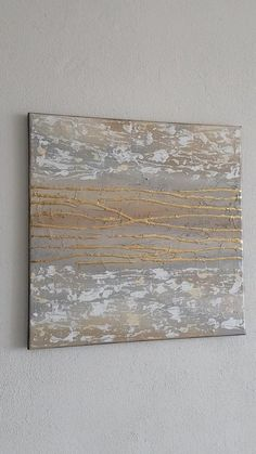 Texture Art, Texture Painting, Gold Leaf Art, Decoupage Art, Amazing Paintings, Art Drawings Sketches Simple, Contemporary Wall Art, Diy Canvas Art, Abstract Wall Art
