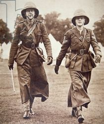 "All-women unit, affiliated to the TA, formed as the First Aid Nursing Yeomanry and active in both nursing and intelligence work during WW1 and WW2. The original role was to ride horseback (hence ""yeomanry"") to rescue wounded soldiers and provide first aid. In WW1 they drove motor ambulances and ran hospitals for the French and Belgian armies. At the start of WW2 they formed the Women's Transport Service and this became the cover for women who volunteered for espionage work for the Special…"