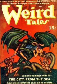 Hannes Bok - Weird Tales - May 1940
