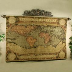 Watercolor world map tapestry tapestries pinterest tapestry watercolor world map tapestry tapestries pinterest tapestry modern tapestries and modern gumiabroncs Images