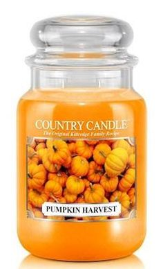 COUNTRY CANDLES Pumpkin Harvest Large 23oz 2-Wick Scented Jar Candle-- Learn more by visiting the image link. (This is an affiliate link) #jarcandles