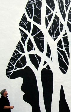 New Murals by David de la Mano and Pablo S. Herrero on the Streets of Norway trees street art Norway murals