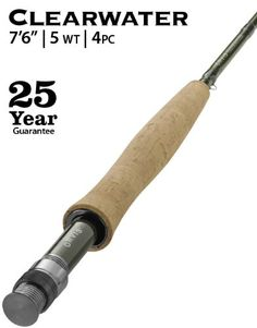 Orvis Clearwater 5weight 76 Fly Rod Type 7Ft 6In ** Check this awesome product by going to the link at the image.