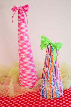 LOVE these candy and ribbon trees from Libby Lane Press!!  Cute for Valentine/birthday, etc!