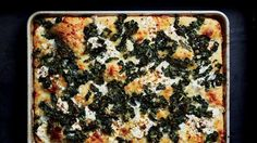 Spicy Tuscan Kale and Ricotta Grandma Pie Recipe | Bon Appetit