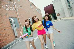 Yerin, Sowon, and Yuju