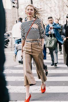 PFW Street Style I | Collage Vintage