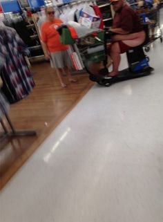 Walmart Installs Toilets on Electric Scooters - Stay Classy People of Walmart Fail - Funny Pictures at Walmart