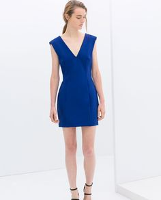 Zara dress - Electric blue