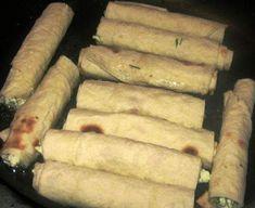 بوراك الجبن بخبز الشاورما مقرمش شهي اطباق