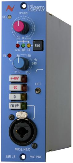 Neve 88RLB. True Neve 88RS mic preamp in a 500-series format. £695 (ex VAT)