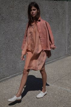 Krasner jacket and silk Aurora in melon Women's Shoes - http://amzn.to/2j5cIw2