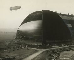 Airdock for the US Airship Akron 1929.       1.633488
