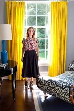 The woman behind Tibi shows off her home. Photos by Mindy Best.