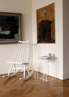 Porvoo nesting table. Design by Helena Mattila. Made in Finland.